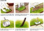 Laying turf