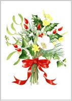 A5 Christmas card, Lewis Manning Hospice